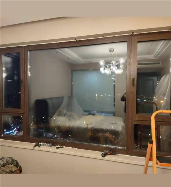 大连全铝铝包门窗